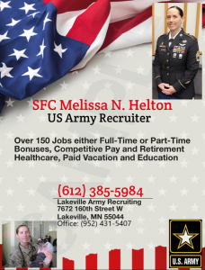 SFC Melissa N. Helton - Lakeville Army Career Center